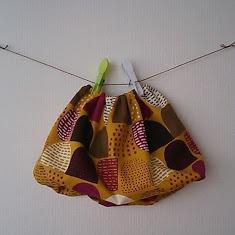 サイズ80*  秋色バルーンスカート
