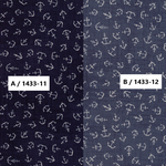 USAコットン moda 「Ahoy, Me Hearties by  Janet Clare」(1433-11(A) / 12(B) )