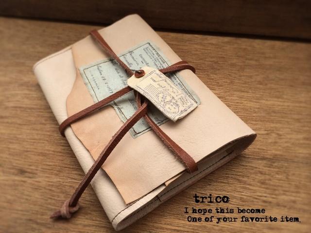 外国からの荷物−ノートカバー