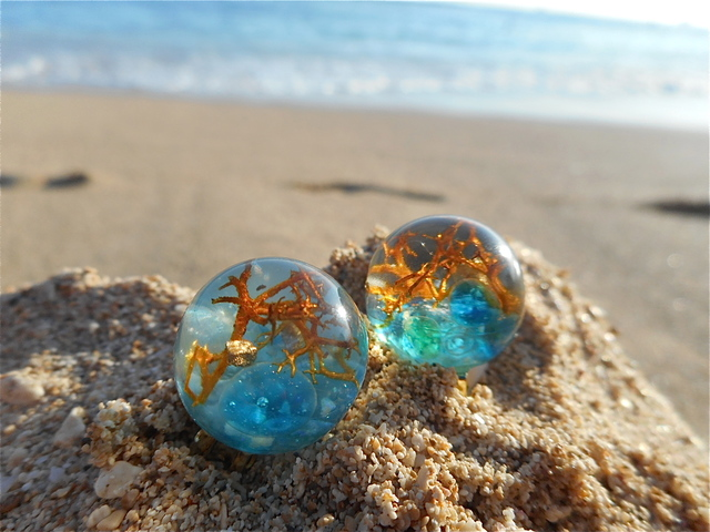 Seascapes Earrings