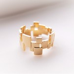 Square floating ring~ゴールド~