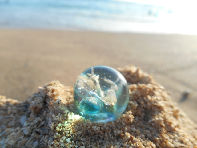 Seascapes Necklace/Ring  o