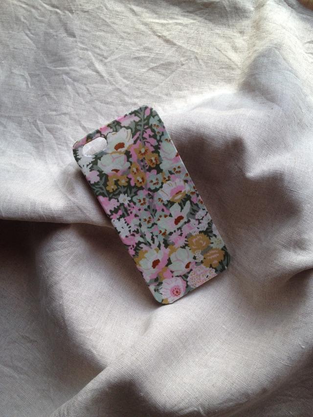 リバティ iphoneケース iphone5/5s(トープ)