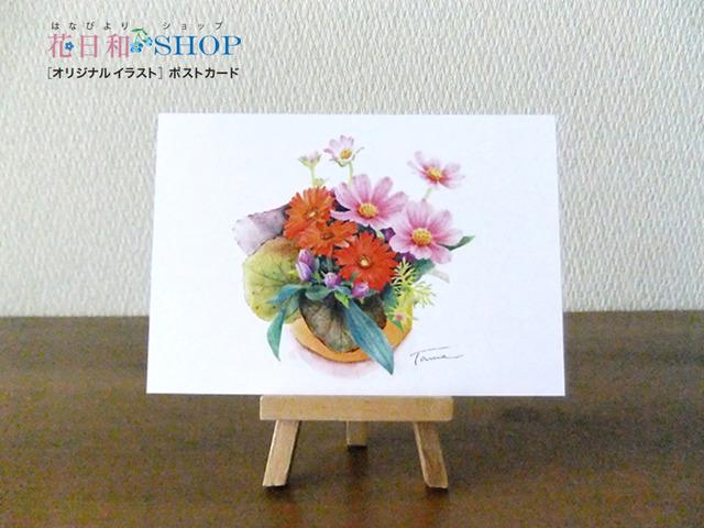 秋の彩り| ポストカード2枚セット
