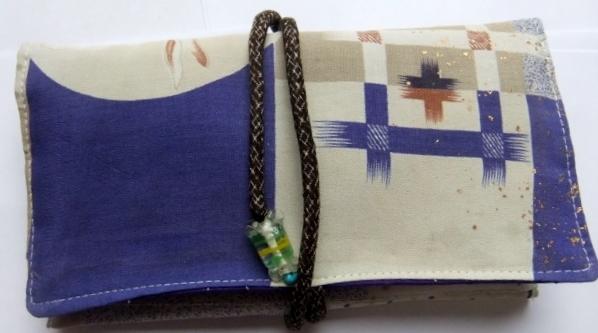 着物リメイク 子供の着物で作った和風財布 329