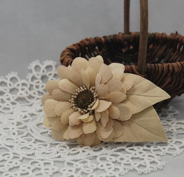 Casual corsage ~Zinnia~