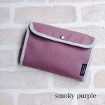 smoky pink CANVAS母子手帳メモリーケース1〜2人用