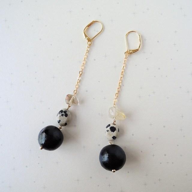 Black, Long, Dalmatian.