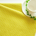 生地 Chartreuse    -Oval Elements  -ART GALLERY FABRICS