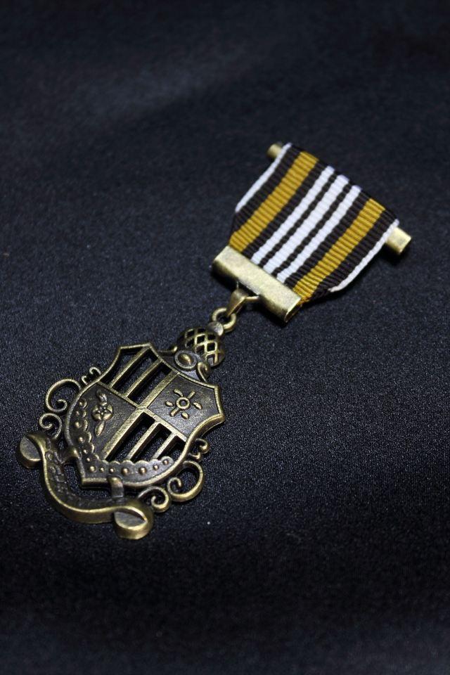 勲章ブローチ(エンブレム1)(全6色)