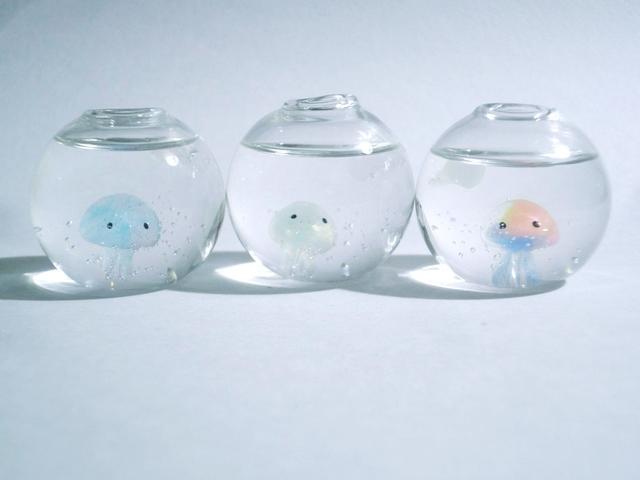 くらげアクアリウム ボール型 クラゲ ミニサイズ?