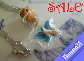セール『星型小瓶の妖精』(青色)