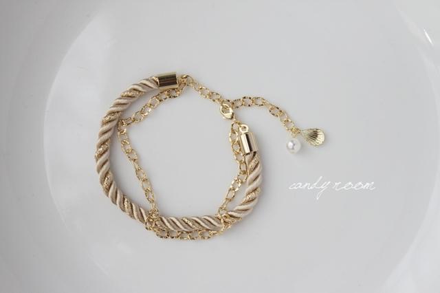 Z85 Rope bracelet BE 16cm
