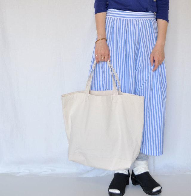 大きなサイズの帆布 トートバッグ