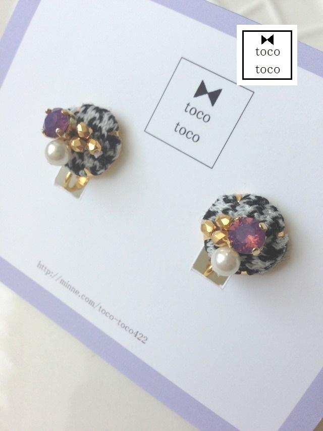 **再販**'chidori' earring