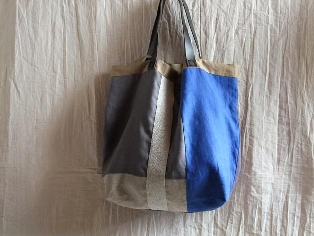 itoiro bag (silver gray)