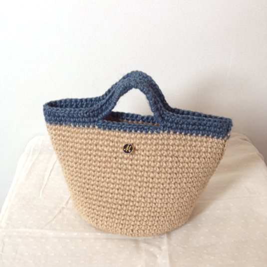 "Marche bag ""indigo"""