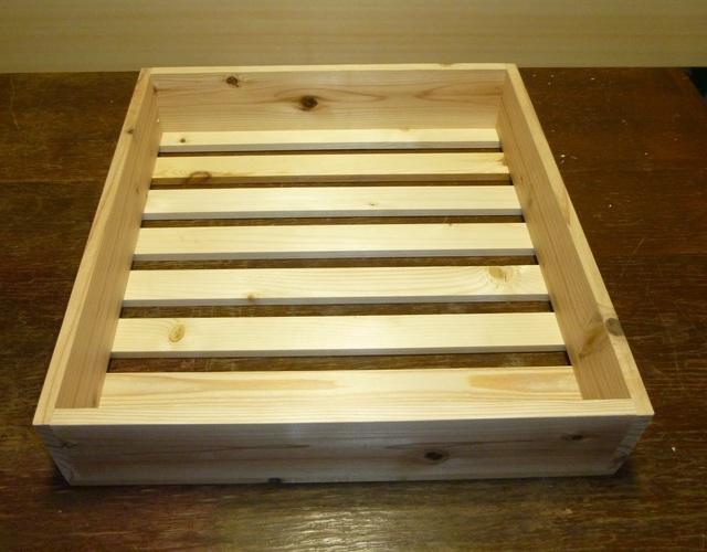木製箱 「とろ箱」