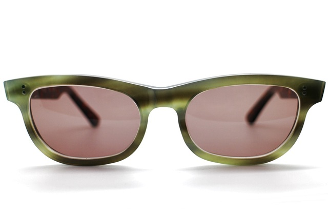 眼鏡ノ奥山のセルロイドサングラス004-EA