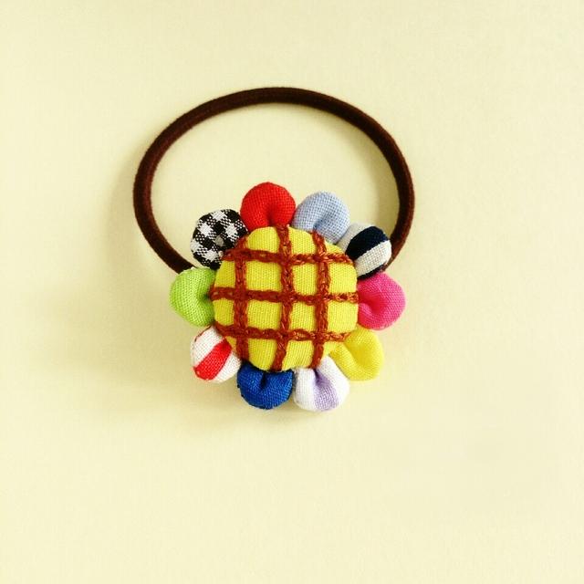 『sunflower』ヘアゴム