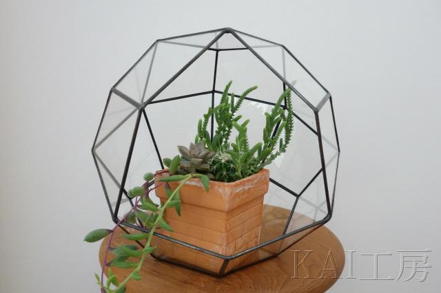 凧形多面体テラリウム 〈受注製作〉
