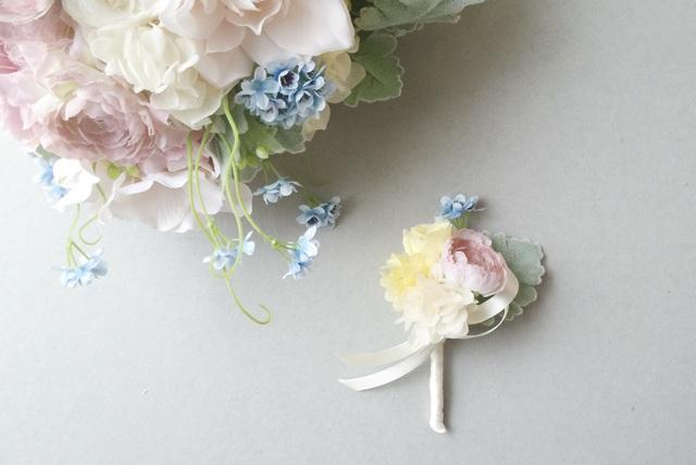 wedding bouquet №04  boutonniere
