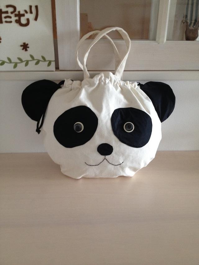 《Mさまオーダー》特大パンダさんバッグ