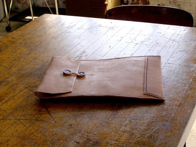 【再販】床革のマニラ封筒v2.1 A4ファイル対応