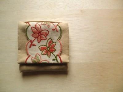 mini mini pouch 花