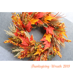Thanksgiving Wreath 40 2019