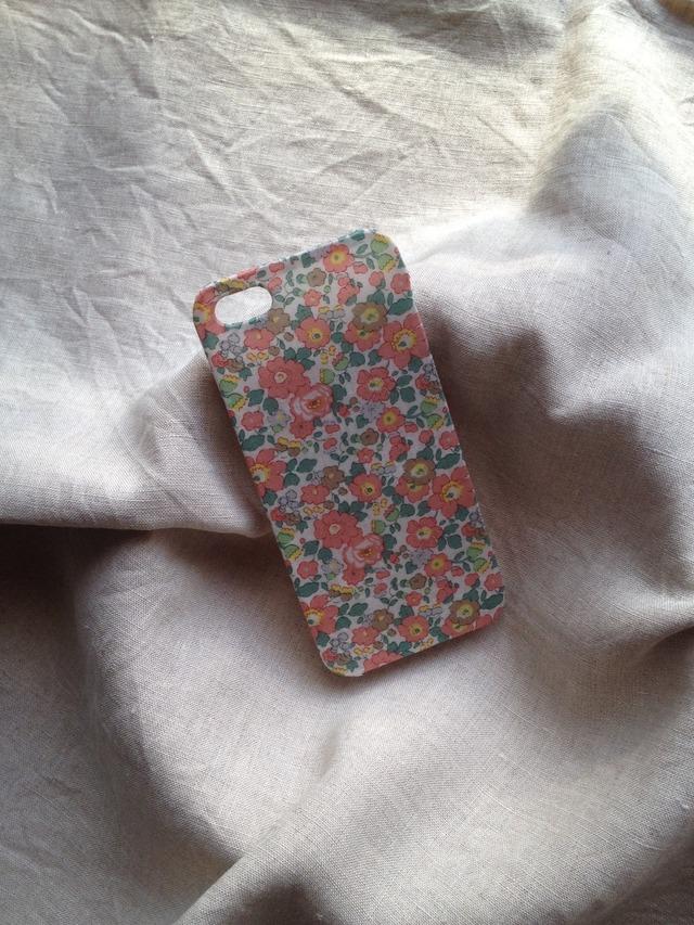 リバティ iphoneケース iphone4/4s(ベッツィアン ピンク)