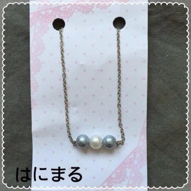 新春クリアランスセール★86*ブレスレット☆パール3姉妹