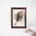 ✳︎New!✳︎静かな森の Dry flower bouquet frame✳︎