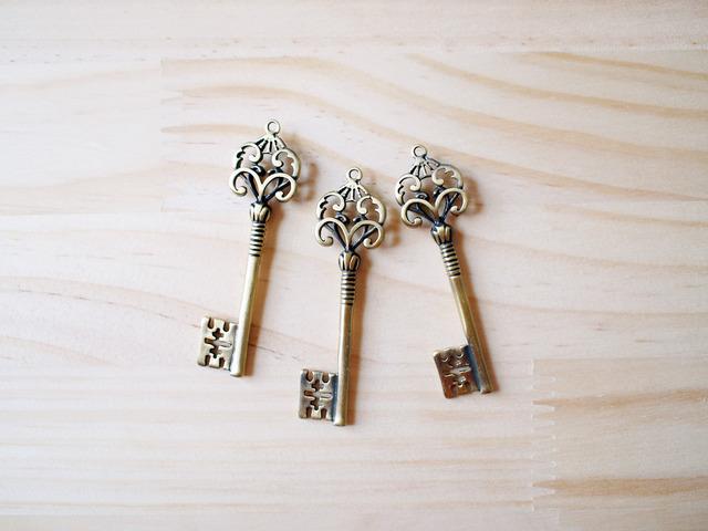 Vintage Key Charm