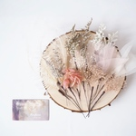 ✳︎New!✳︎思い出に残る Dry flower hair dress kit- Antique pink-