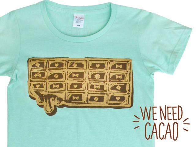 チョコミントTシャツ(Lサイズ)