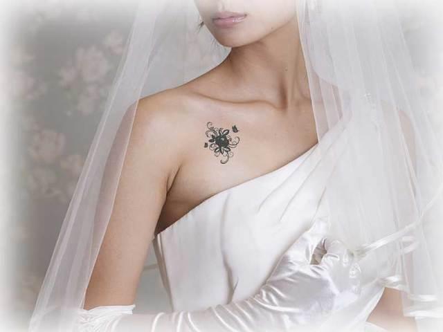 【再販×1】タトゥーシール(バラ)