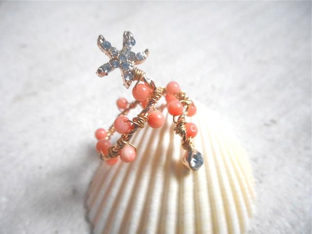 ヒトデのフォークリング (珊瑚)