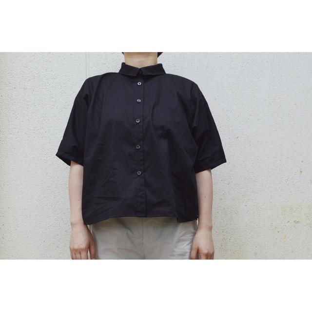 DOLMAN SHIRTS BLACK【S〜M】(COTTON BROAD)