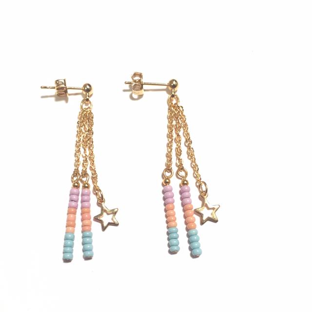 beads pierce�ڡ�3pastel��