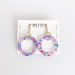 KIRAKIRA colorful circle pierce/earring