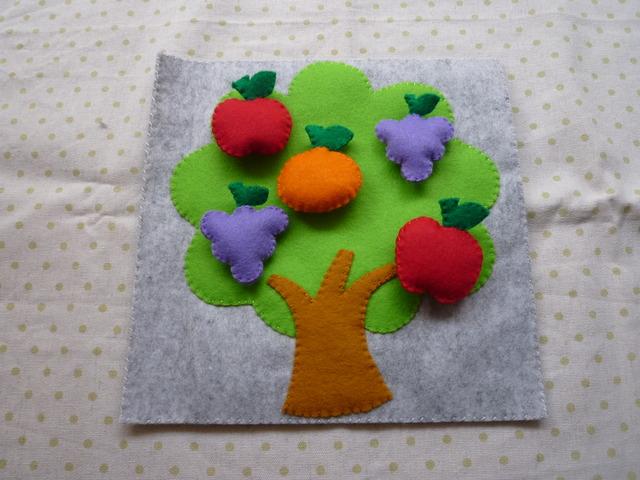 フルーツツリーのスナップボタン