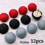 新商品割引24日13時迄【330円→300円】【cbtt569】【3color 12pcs】fake suede cabochon