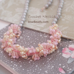 Loop Crochet necklace <ODA 1910>