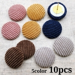 【cbtt572】【20mm】【10個】Fall-Winter corduroy cabochon