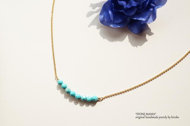 ?Misty?Turquoise necklace?