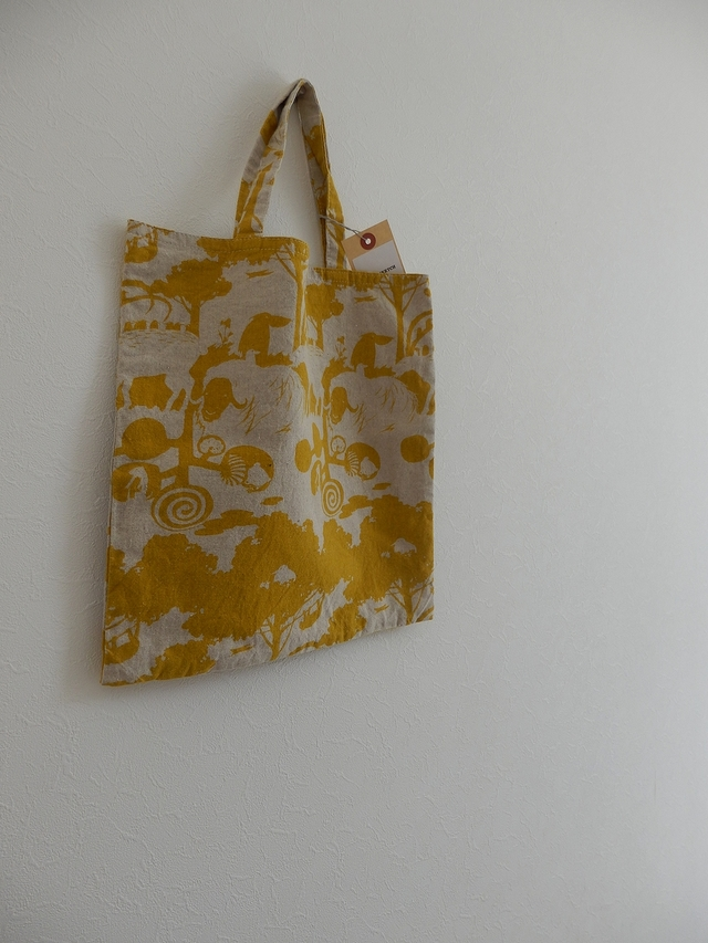 one-mile��BAG SQUAre yellow