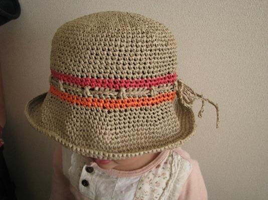 子どもの夏帽子♪