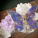 至極色の蝶ブローチ(Brooch of Supreme color butterfly)