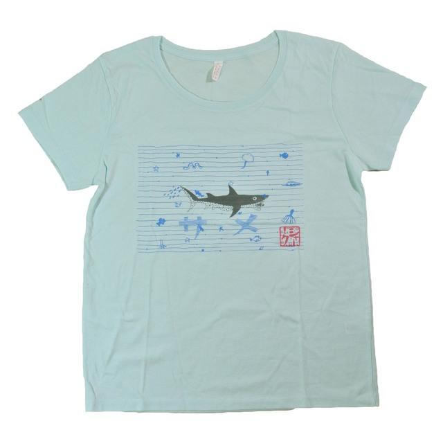 鮫Tシャツ レディース(S L)